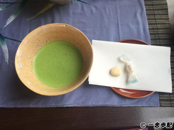 サワモトの抹茶と和菓子