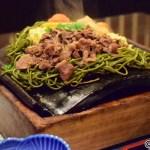 楊貴館で食べた山口県名物瓦そば