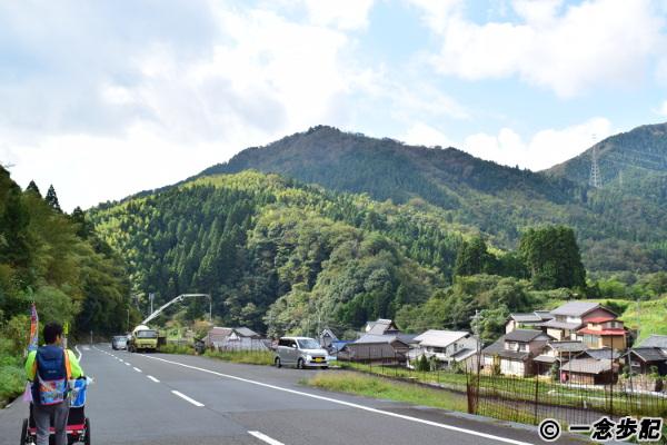 山の中の集落
