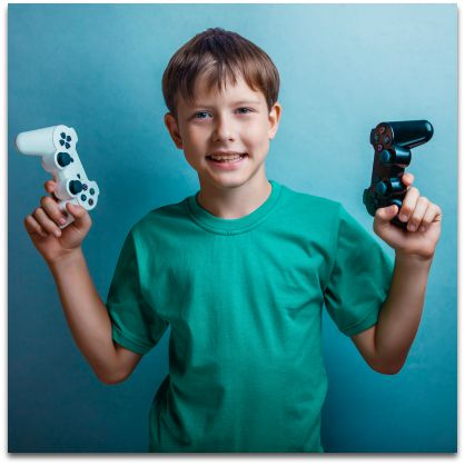 How to Handle Your Child s Video Game Obsession Positively   A Fine     Kids Playing Video Games   It is fun for them