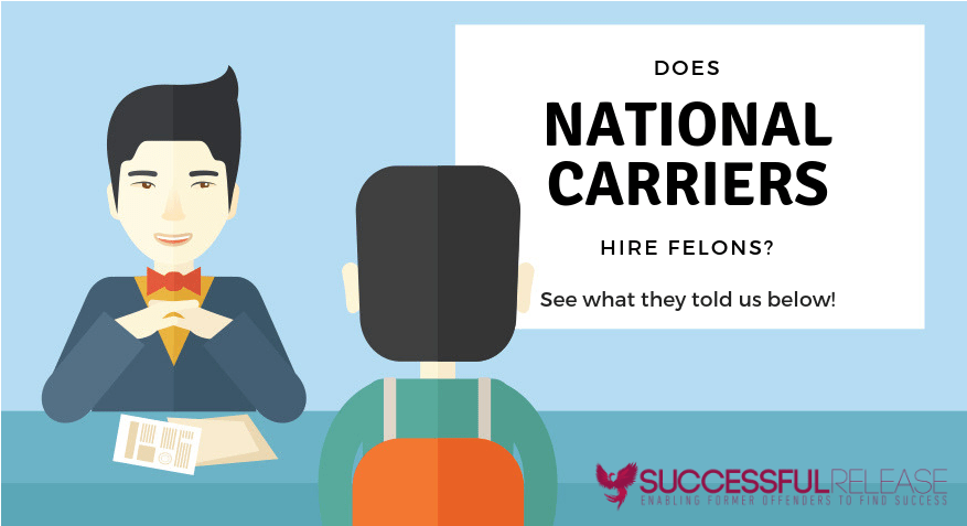 company profile, national carriers, transportation, jobs for felons