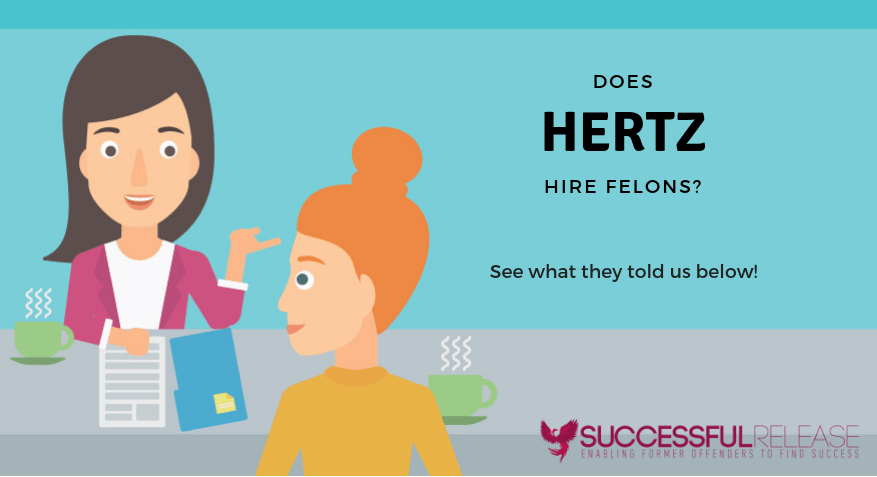 Hertz, jobs for felons, company profile, car rentals