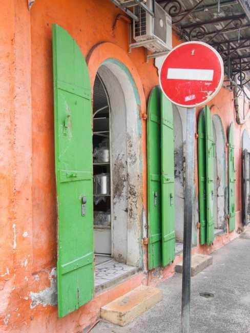 guadeloupe, rue, façade, pointe à pitre, retour d'inspiration
