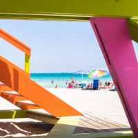 """ambiance à Miami Beach, c'est """"SoBe"""" , So """"cliché"""" aussi ..."""