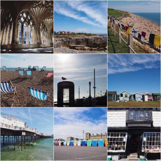 angleterre, brighton, portland, canterbury, photographie, ville