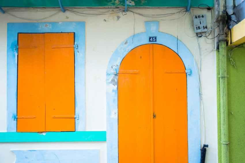 pointe à pitre, guadeloupe, façade, marché