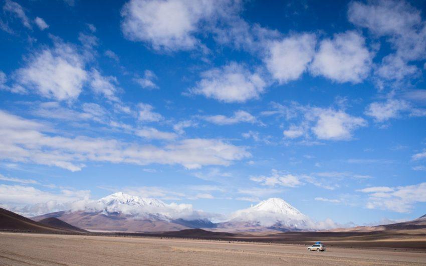 bolivie, los lipez, altiplano, volcans