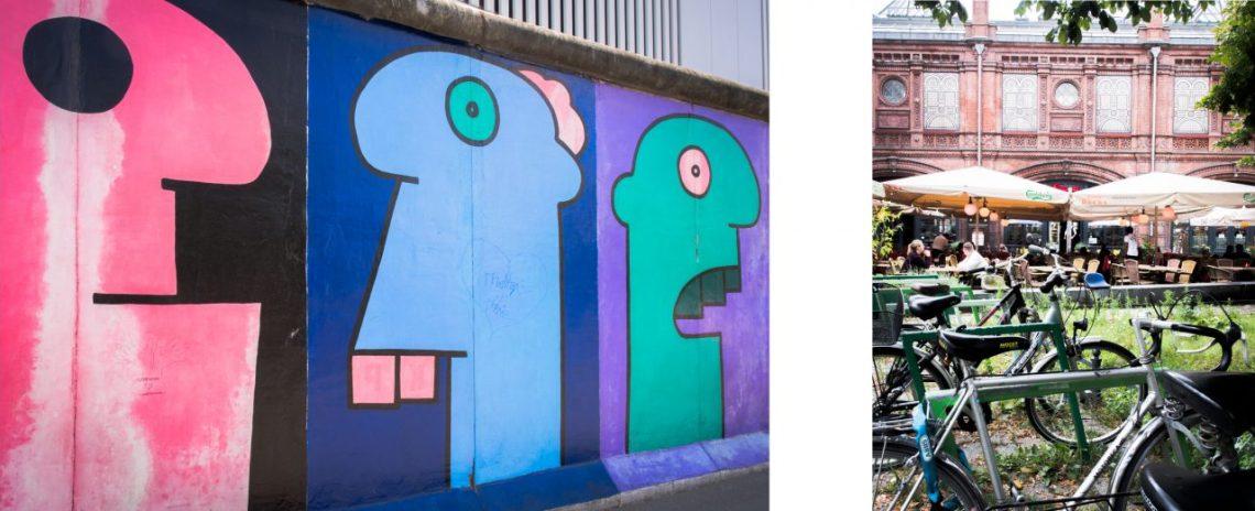 berlin, mur de berlin, allemagne, street art, Hackesche Höfe, east side gallery