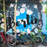 A Berlin nous avons lu des histoires sur les murs