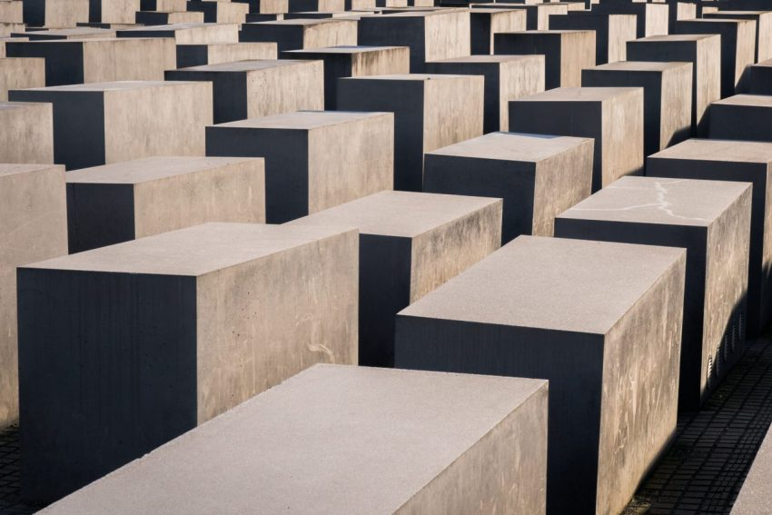 memorial de l'holocauste, berlin, allemagne