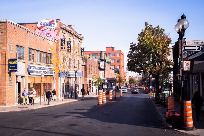 canada, plateau, mont royal, street