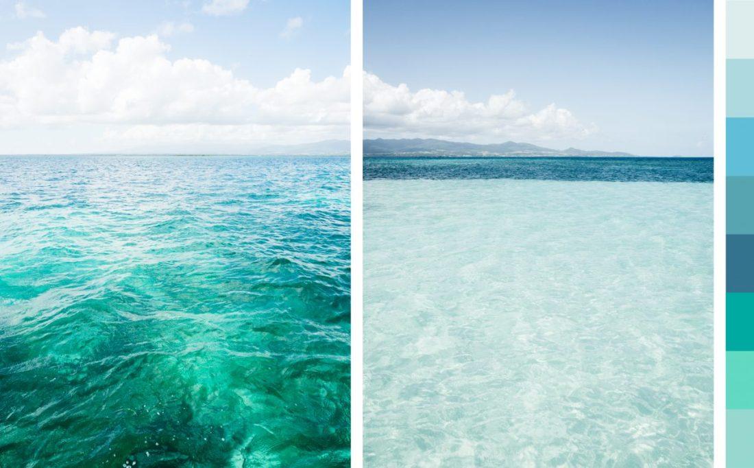 Le Lagon Du Grand Cul De Sac Marin Dinfinies Nuances De Bleu
