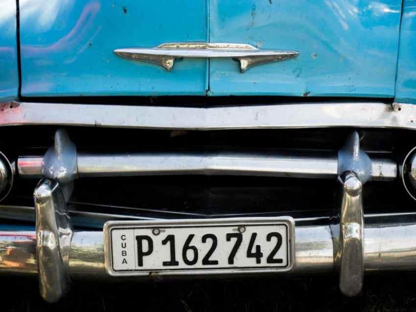 La Havane, cuba, old car, chevrolet