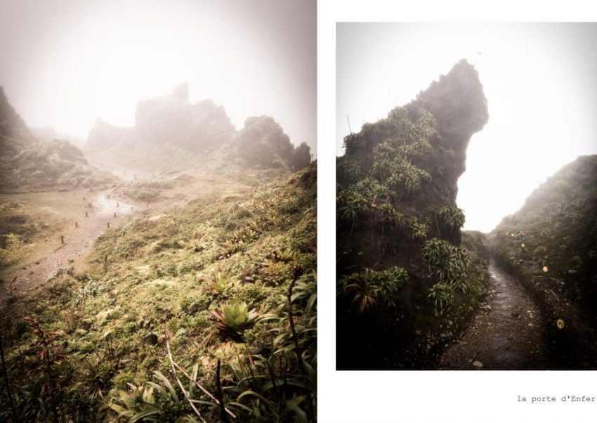 soufrière, guadeloupe, volcan, randonnée