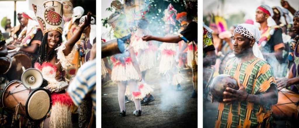 carnaval, guadeloupe, groupes à peaux, mass a po