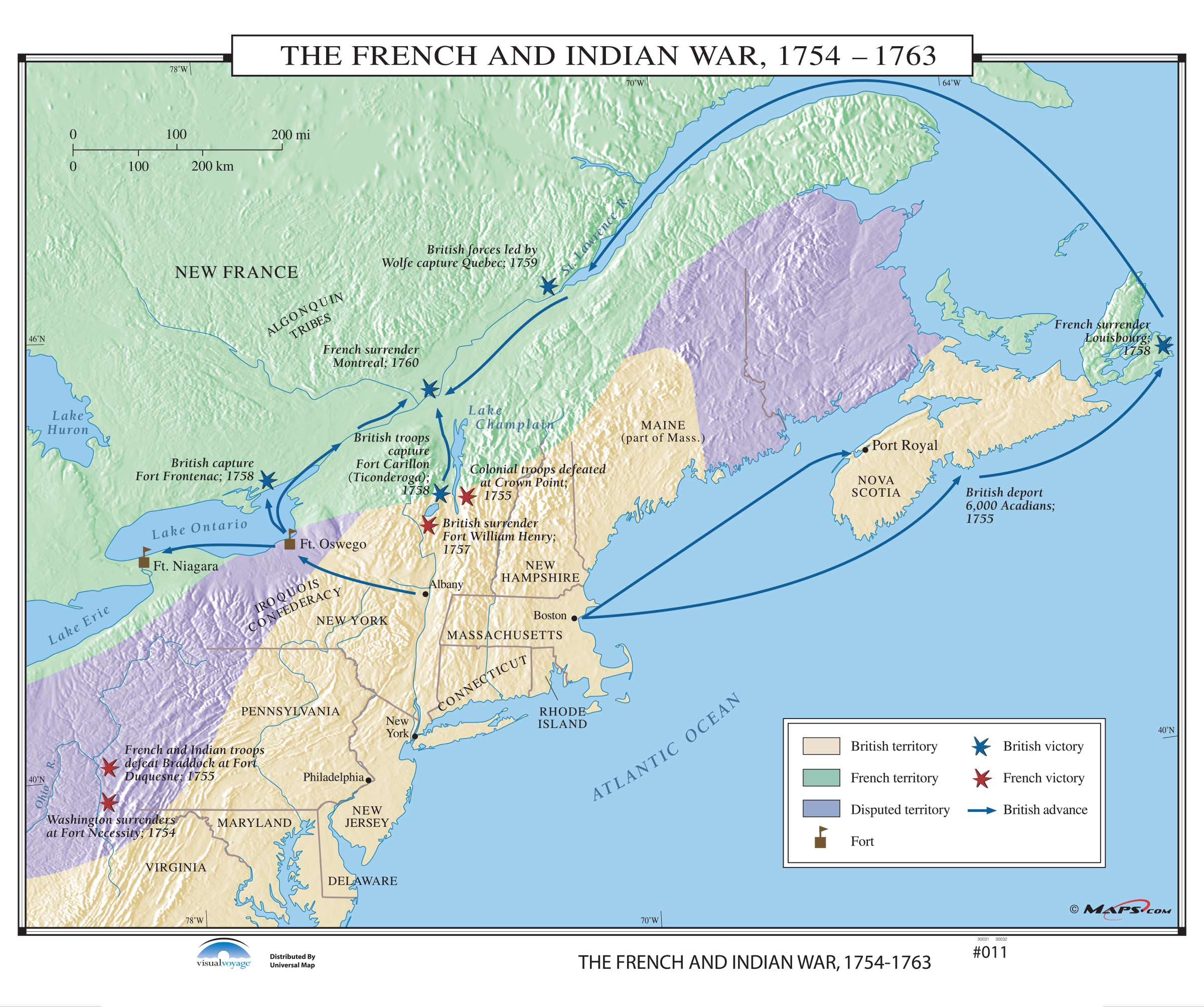 011 The French Amp Indian War On Roller W