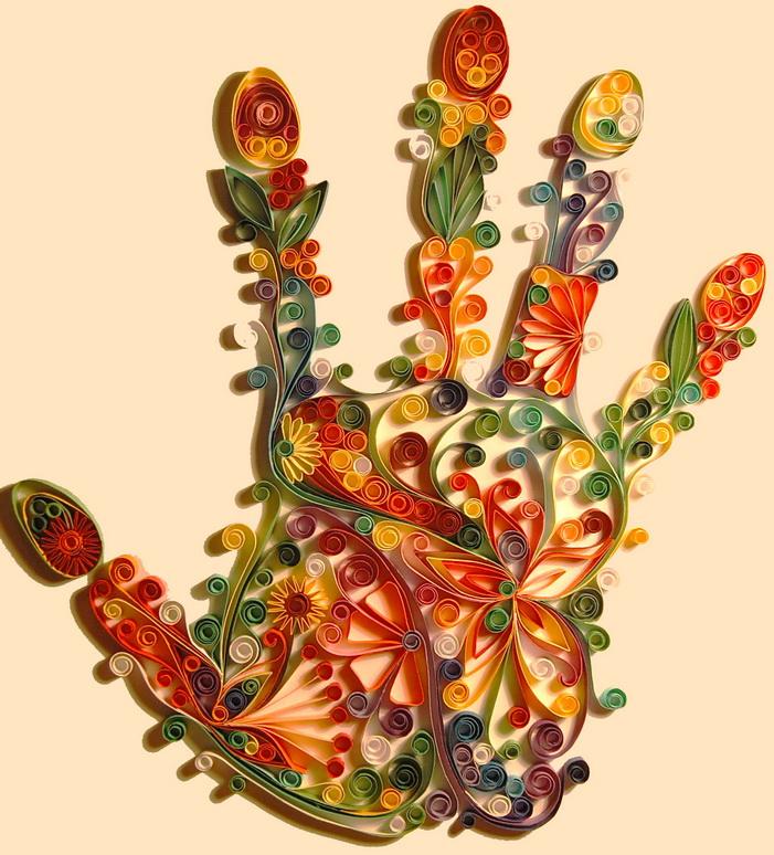 Открытка с бабочкой: квиллинг пошагово с фото   774x701