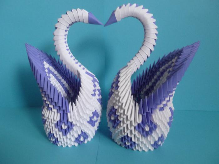 Origami Plastic Swan Napkin Holder - White | eBay | 525x700