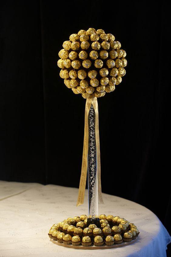 sladkiy_topiariy_23_06173124 Топиарий из конфет. Сладкий топиарий: дерево, яблоко, букет и часы из конфет