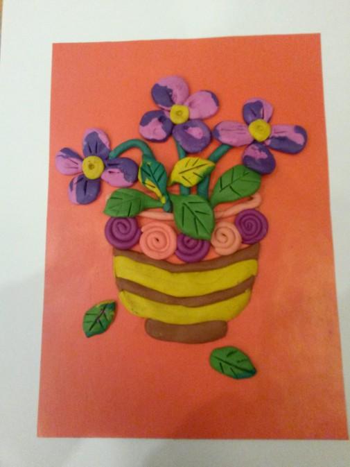 каталог пластилинография фото цветы садовые таких