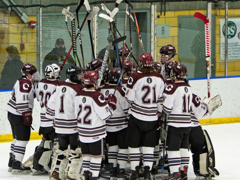 Brian Stone Memorial Christmas Tournament: Bow 0 at Goffstown 6