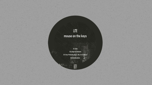 Mouse On The Keys Release 4-track EP With Lite