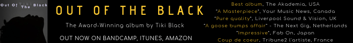 Out of the Black - Get the award-winning debut album by Tiki Black