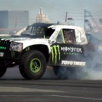 Monster Energy S 850 Hp Trophy Truck Showing Off America Loves Horsepower