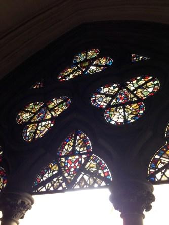Vitraux du cloître de Westminster Abbey