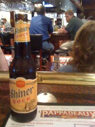Spoetzl Shiner Bock in Texas