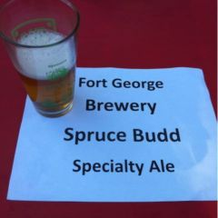 109. Fort George Brewery – Spruce Budd Specialty Ale Draft