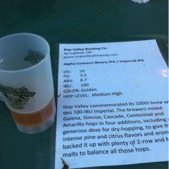 129. Hop Valley Brewing – Alpha Centauri Binary IPA Draft