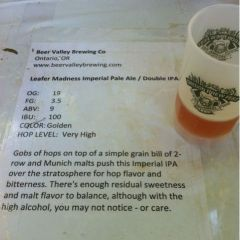132. Beer Valley Brewing – Leafer Madness Imperial Pale Ale