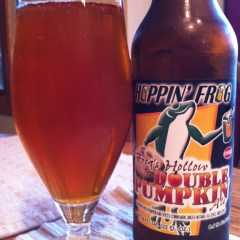 190. Hoppin' Frog – Frog's Hollow Double Pumpkin Ale