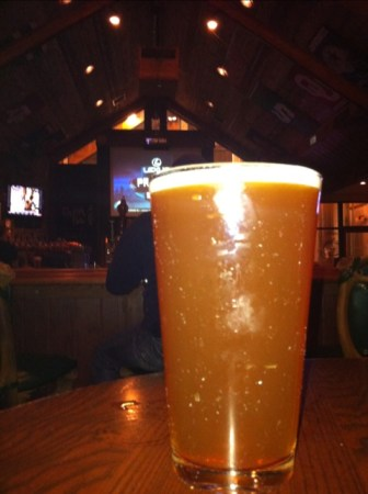 Uncle Buck's Brewery and Steakhouse English Pale Ale draft