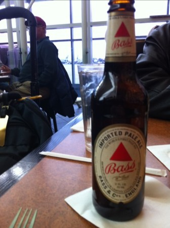 Bass Ale in Dallas Fort Worth Airport DFW