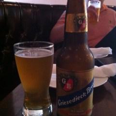 328. Griesedieck Bros. – Premium Golden Pilsner