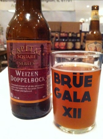 Capital Brewing - Square Series Weizen Dopplebock