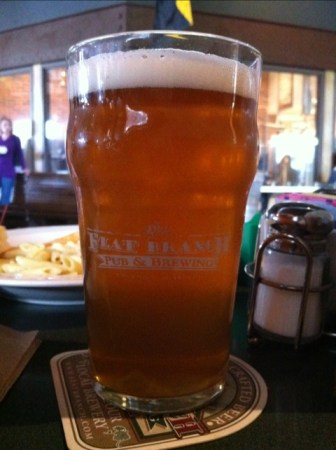 Flat Branch pub & Brewing - Green Chili Beer