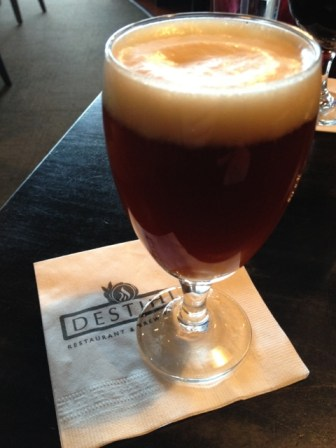 Destihl Restaurant & Brew Works - Bourbon Barrel Aged Deadhead Double Red