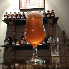 430. 4 Hands Brewing – Prunus Saison