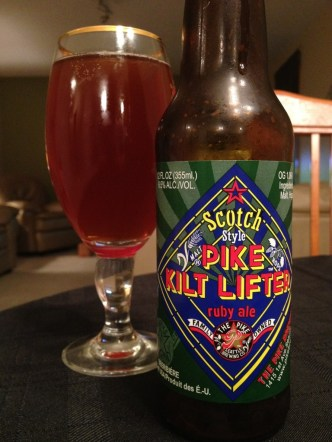 The Pike Brewing Co. - Scotch Style Pike Kilt Lifter Ruby Ale