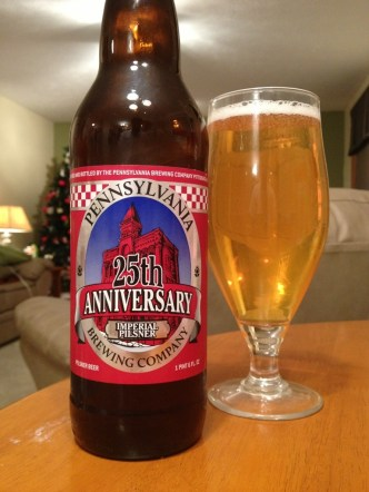 503. Pennsylvania Brewing Co. - 25th Anniversary Imperial Pilsner