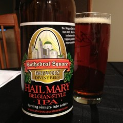 548. Cathedral Square Brewery – Hail Mary Belgian-Style IPA