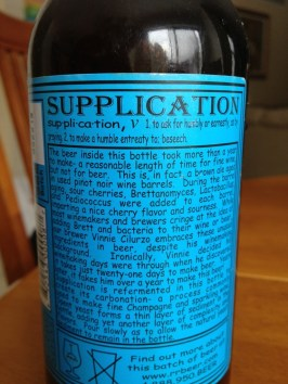 564. Russian River Brewing - Supplication Ale