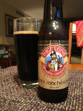 572. Highland Brewing Co. - Black Mocha Stout