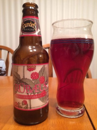 648. Founders Brewing - Rübæus Pure Raspberry Ale