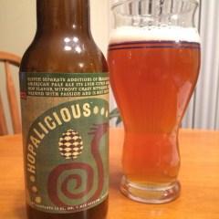 663.  Ale Asylum – Hopalicious American Pale Ale