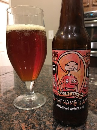 811. Flat 12 Bierwerks- Hello My Name is Amber