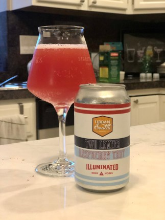 940. Urban South/Illuminated Brew Works - Two Levees Raspberry Tart